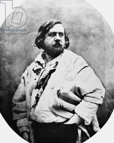 THÉOPHILE GAUTIER (1811-1872). French man of letters. Photographed by Nadar, c.1856.