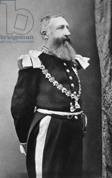 LEOPOLD II (1835-1909) King of the Belgians, 1865-1909.