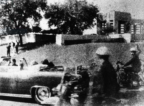 KENNEDY ASSASSINATION, 1963 The assassination of President John F. Kennedy in Dallas, Texas, 22 November 1963.