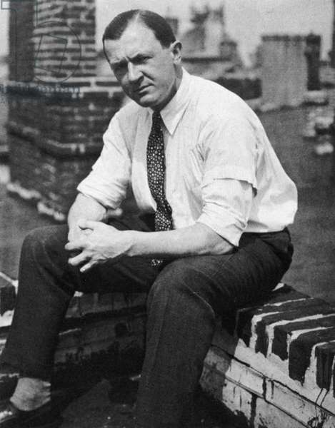GEORGE GROSZ (1893-1959) American (German born) painter. Photographed in 1932 in New York City.