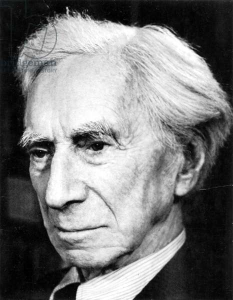 BERTRAND RUSSELL (1872-1970). 3rd Earl Russell. English mathematician and philosopher.