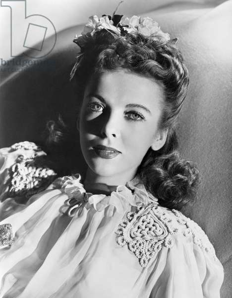 IDA LUPINO (1918-1995) British American actress. Photograph, c.1940.