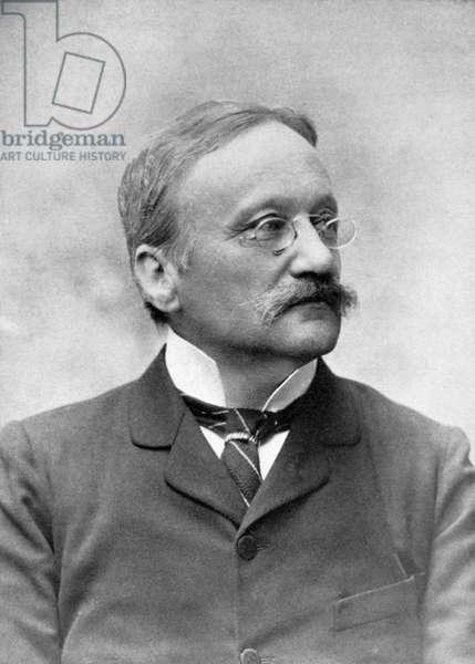 ARRIGO BOITO (1842-1918) Italian composer and librettist. Undated photograph.