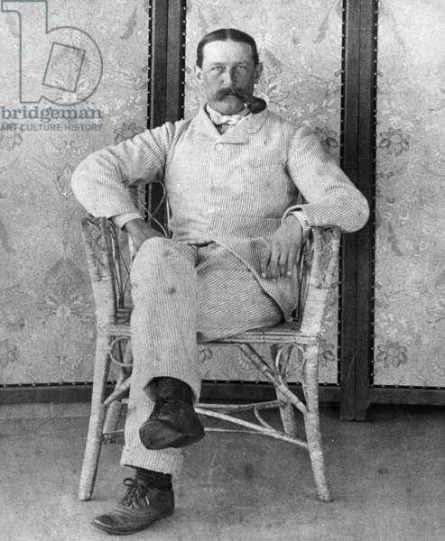 EDWARD ROBBINS WHARTON (1850-1928). American, husband of Edith Wharton. Photograph, c.1905.