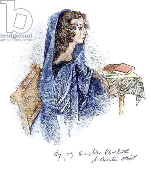 Anne Bronte (colour litho)