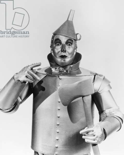 WIZARD OF OZ, 1939 Jack Haley as the Tin Woodman in the 1939 MGM production of 'The Wizard of Oz.'