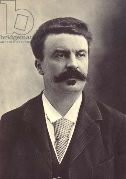 GUY de MAUPASSANT (1850-1893). French writer.