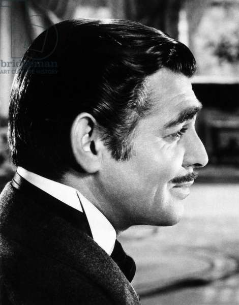 GONE WITH THE WIND, 1939 Clark Gable as Rhett Butler.