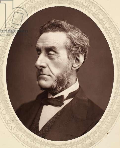 EARL OF SHAFTESBURY (1801-1885). 7th Earl of Shaftesbury Anthony Ashley Cooper. English philanthropist and statesman. Photographed c.1876.