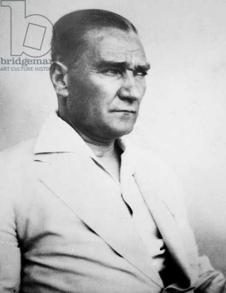 MUSTAFA KEMAL ATATURK (1881-1938). Turkish soldier and statesman.