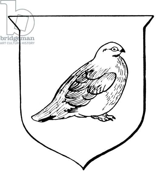 ALASKA: STATE BIRD The Willow Ptarmigan.