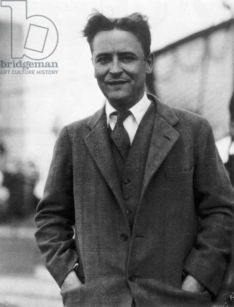 F. SCOTT FITZGERALD (1896-1940). Francis Scott Key Fitzgerald. American writer. Photographed in 1928.