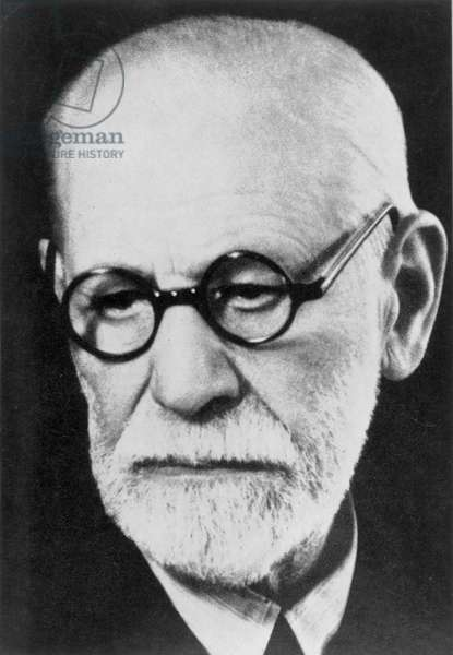 SIGMUND FREUD (1856-1939) Austrian neurologist and founder of psychoanaysis. Photographed in 1938.