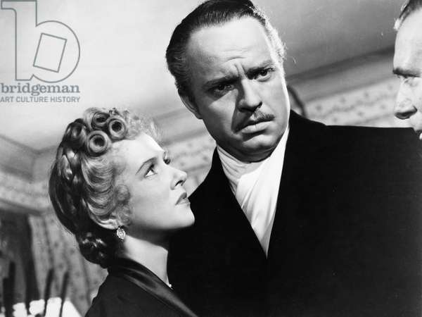 FILM: CITIZEN KANE, 1941 Dorothy Comingore and Orson Welles in the 1941 motion picture 'Citizen Kane.'