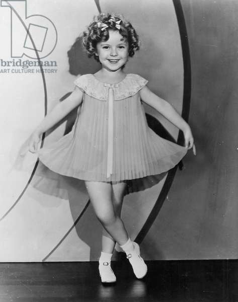 SHIRLEY TEMPLE (1928-2014) American child actress.