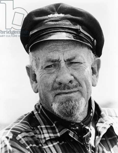 JOHN STEINBECK (1902-1968) American writer. Photograph, 1966.