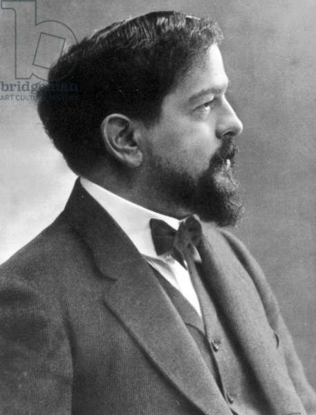 CLAUDE DEBUSSY (1862-1918) French composer. Photographed by Nadar.