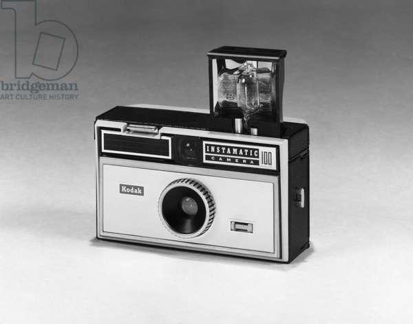 KODAK CAMERA, c.1963 The Kodak Instamatic 100 camera, c.1963.