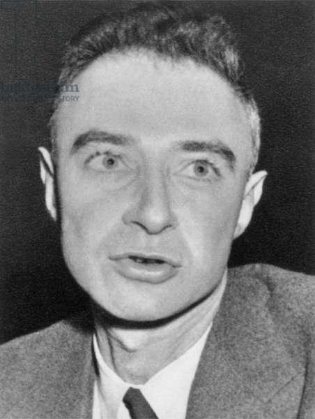 J. ROBERT OPPENHEIMER (1904-1967). American physicist.