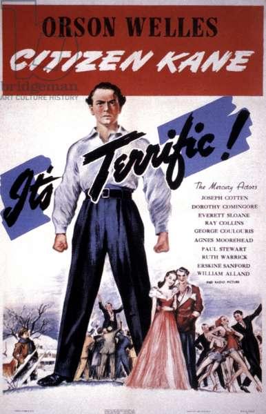 CITIZEN KANE FILM POSTER, 1941.