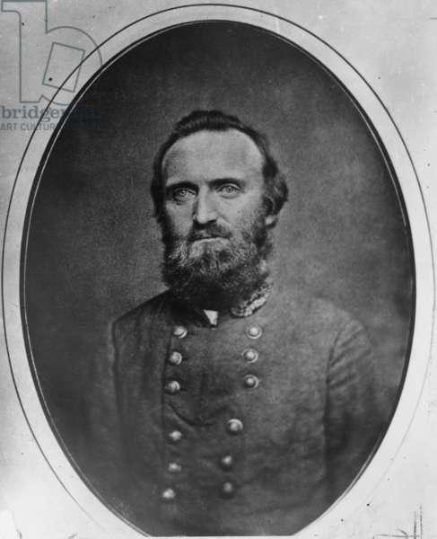 STONEWALL JACKSON (1824-1863). Thomas Jonathan 'Stonewall' Jackson. American Confederate general. Photograph, c.1860.