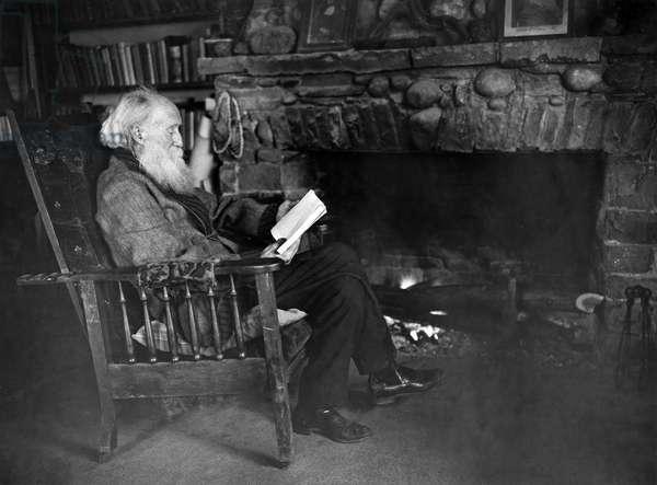 JOHN BURROUGHS (1837-1921) American naturalist.