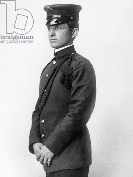 HARRY S. TRUMAN (1884-1972). Thirty-third President of the United States. Truman in the uniform of the Missouri National Guard, c.1911.