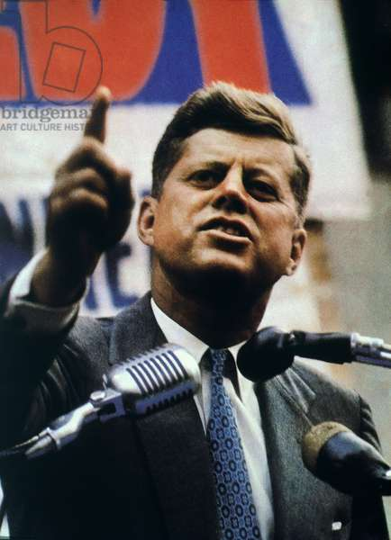 JOHN F. KENNEDY (1917-1963) 35th President of the United States.