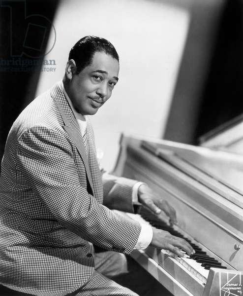 DUKE ELLINGTON (1899-1974) American musician and composer.