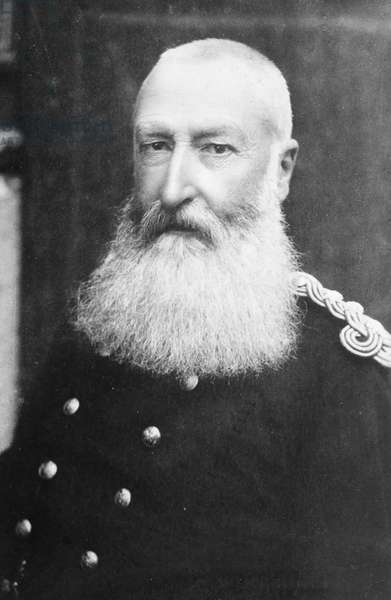 LEOPOLD II (1835-1909) King of the Belgians, 1865-1909. Photographed c.1905.