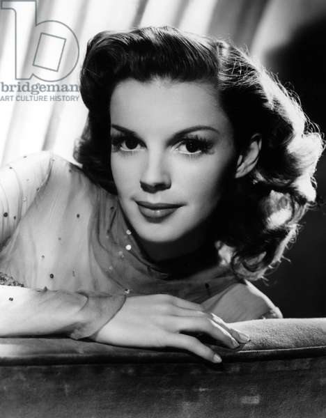 JUDY GARLAND (1922-1969) American singer and actress. Photograph, c.1945.