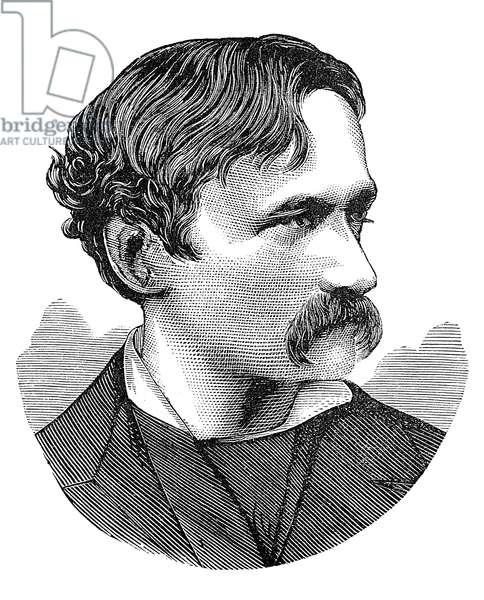 ARRIGO BOITO (1842-1918) Italian composer and librettist. Wood engraving.