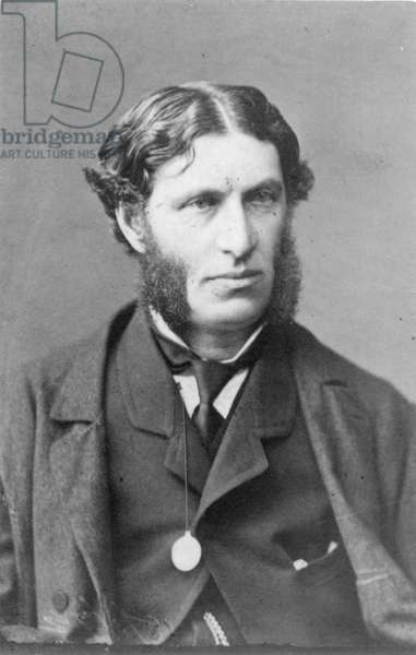 MATTHEW ARNOLD (1822-1888) English poet and critic. Original carte-de-visite photograph.
