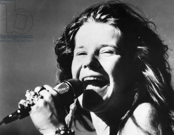JANIS JOPLIN (1943-1970) American singer. Photograph, 1960s.