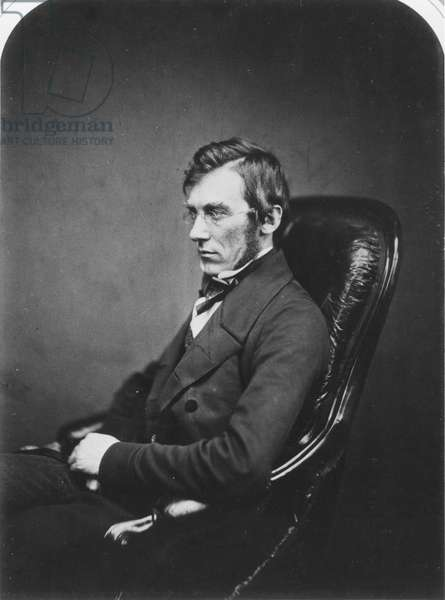 SIR J. D. HOOKER (1817-1911) English botanist. Photographed about 1855.