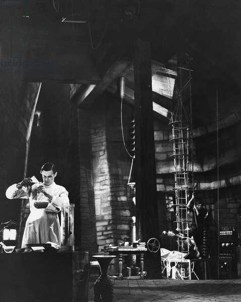 FRANKENSTEIN, 1931 Colin Clive as Dr. Frankenstein.