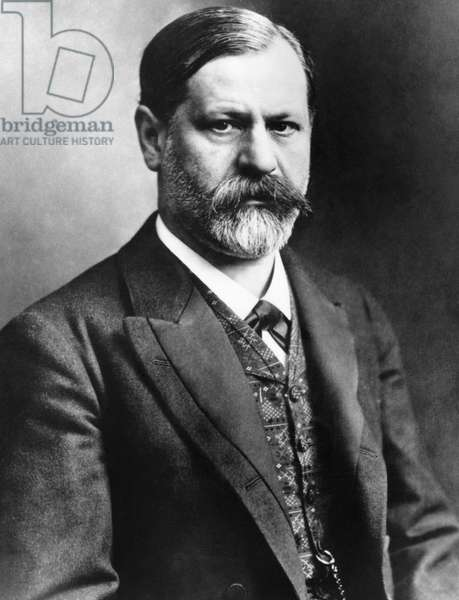 SIGMUND FREUD (1856-1939) Austrian neurologist and founder of psychoanalysis. Photograph, c.1907.