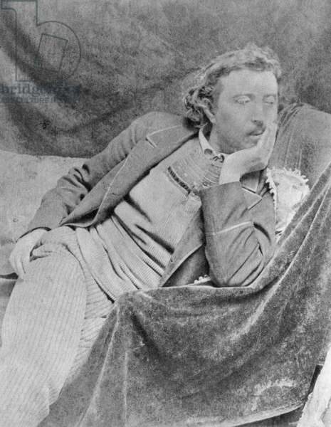 PAUL GAUGUIN (1848-1903) French painter. Photographed c.1890.