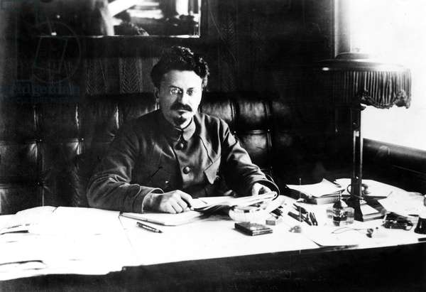 LEON TROTSKY (1879-1940) Né Lev Davidovich Bronstein. Russian Communist leader. Photographed in the 1920s.