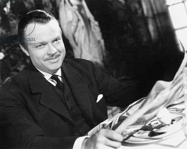 ORSON WELLES: CITIZEN KANE Orson Welles in the title role of Charles Foster Kane in the film 'Citizen Kane,' 1941.