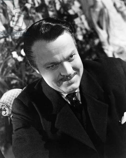 FILM: CITIZEN KANE, 1941 Orson Welles in the title role of the 1941 motion picture 'Citizen Kane.'