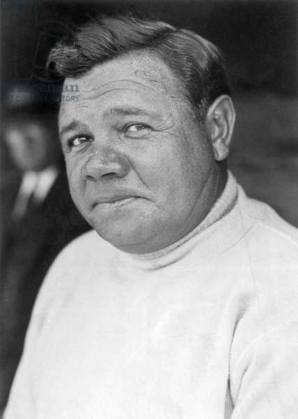 GEORGE H. RUTH (1895-1948) Known as Babe Ruth, American professional baseball player. Photographed in 1930.