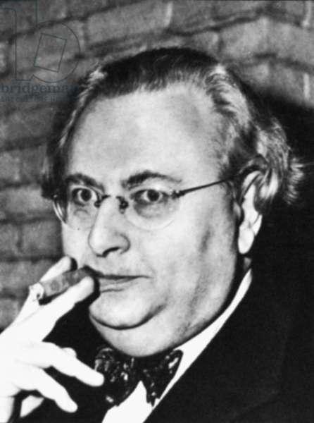 LOUIS DE WOHL (1903-1961) English astrologer.