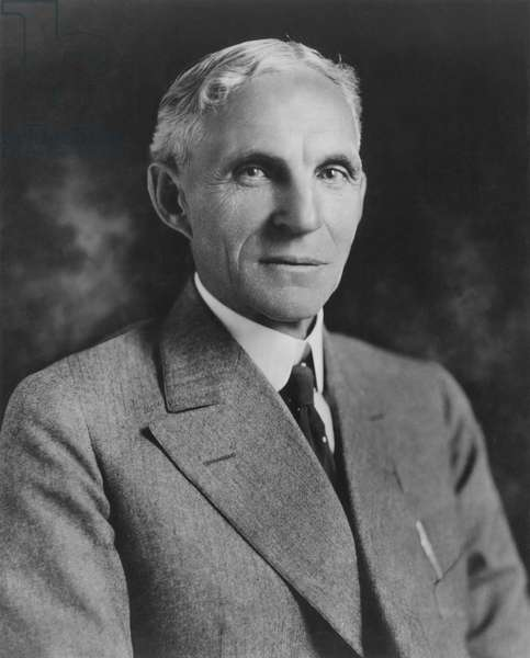 HENRY FORD (1863-1947). American automobile manufacturer. Photographed in 1921.