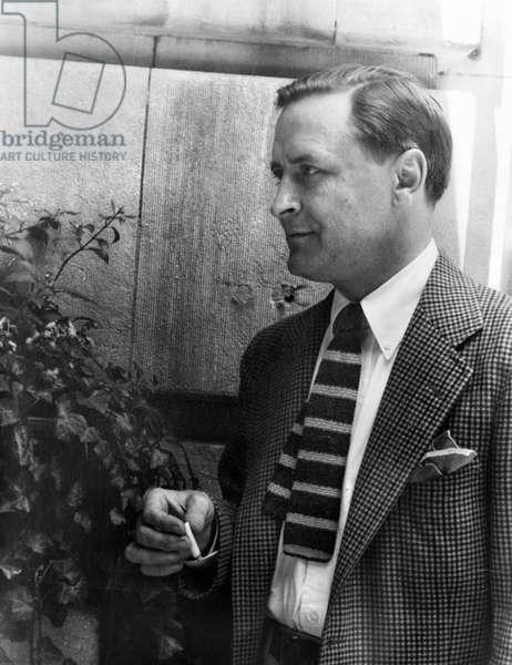 F. SCOTT FITZGERALD (1896-1940). Francis Scott Key Fitzgerald. American writer. Photographed by Carl Van Vechten, 1937.
