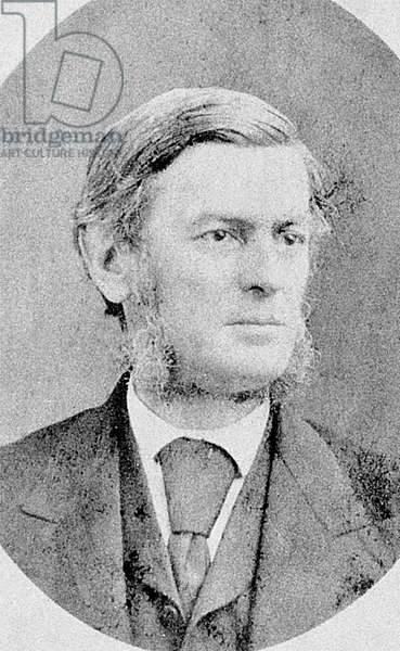 JOSEPH RUGGLES WILSON (1822-1903). Father of Woodrow Wilson, 28th President of the United States.