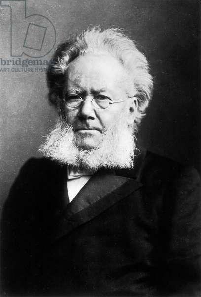 HENRIK IBSEN (1828-1906) Norwegian poet and playwright.