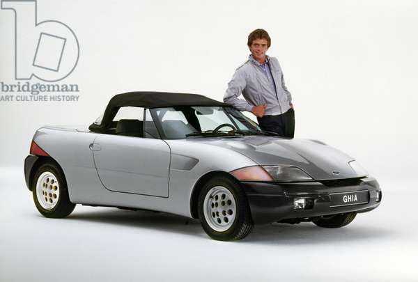 GHIA: BARCHETTA, 1985 A two-seat sports car manufacturecd by Ford.