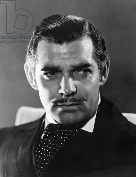 CLARK GABLE (1901-1960) American actor. As Rhett Butler in the film 'Gone With the Wind,' 1939.