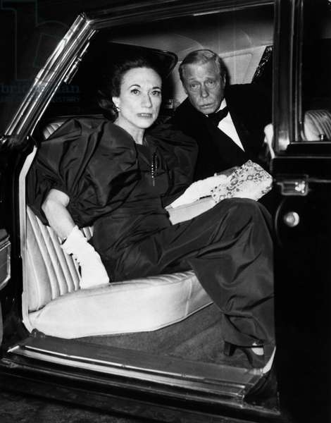 EDWARD VIII (1894-1972). King of Great Britain. The Duke and Duchess of Windsor, c.1965.